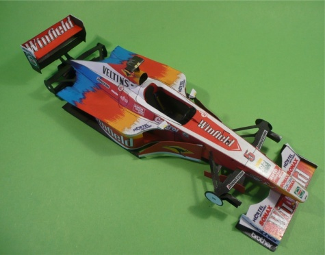 Williams FW21-A.Zanardi