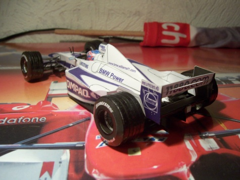 Williams FW22, 2000,Jenson Button