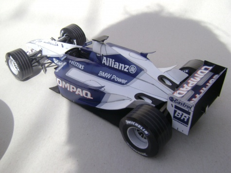 Williams FW24, 2002, R. Schumacher