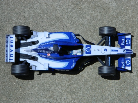WILLIAMS FW25 press and test ver. 2003