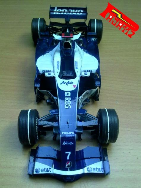 Williams FW30, GP Singapore 2008, Nico Rosberg