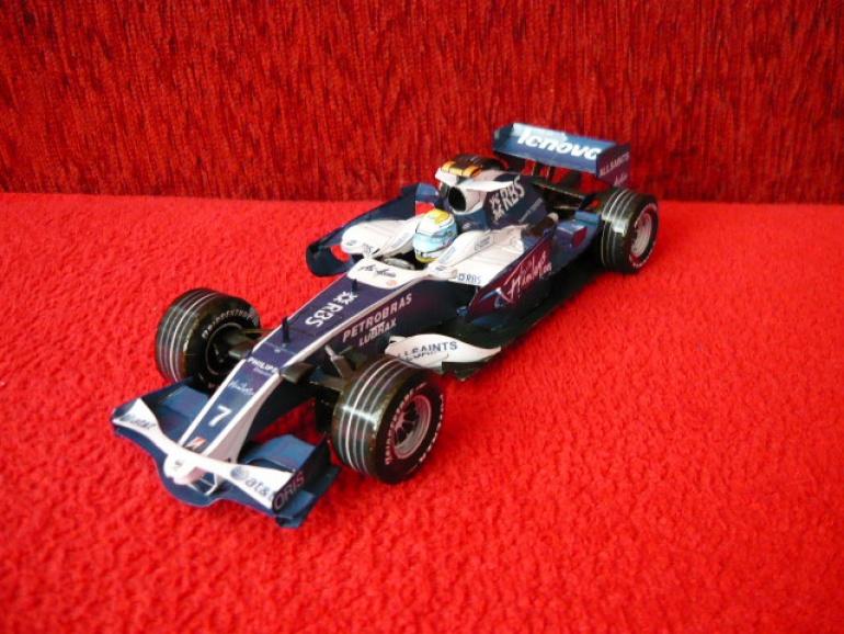 Williams FW30,Nico Rosberg,2008