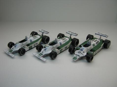 Williams FW 07/07B 6x