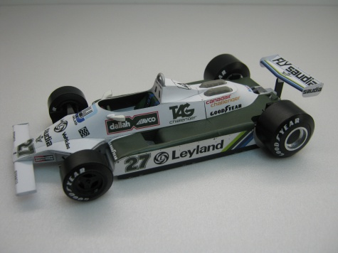 Williams FW 07/07B 6x
