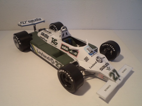 Williams FW07B Ford, A. Jones, GP France 1980