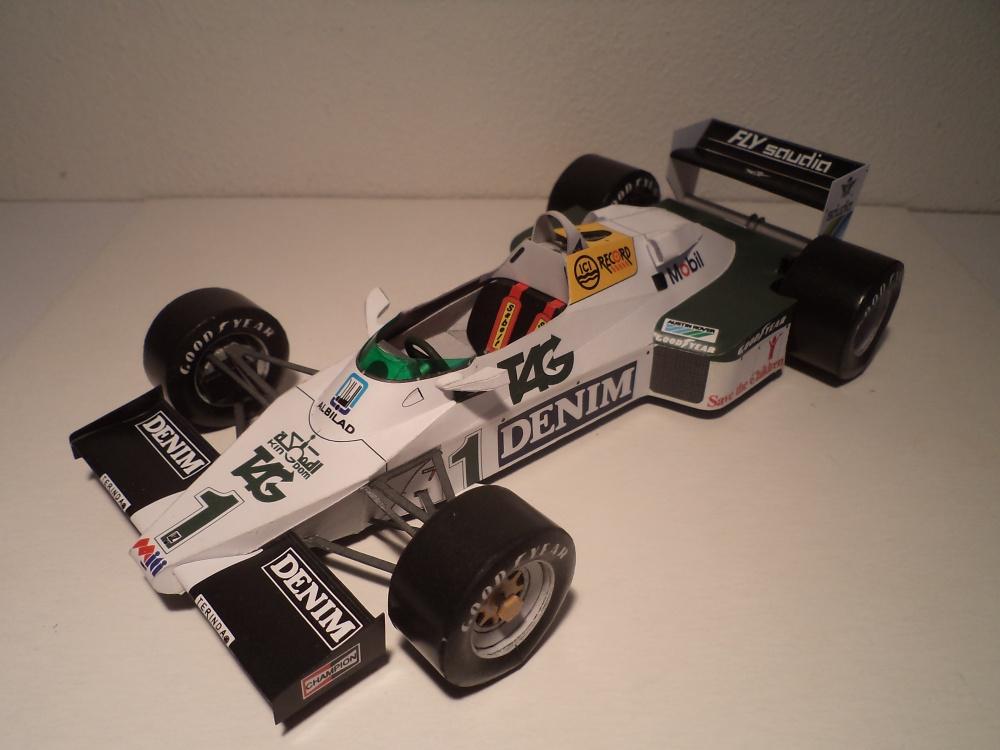 Williams FW08C, Donington testing 1983, Ayrton Senna