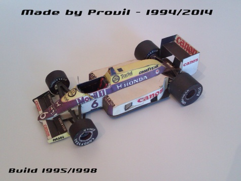 Williams FW11 - (6) Nelson Piquet