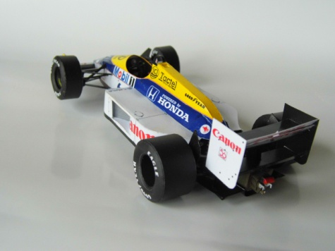 Williams FW11B - N.Piquet - GP Maďarska 87