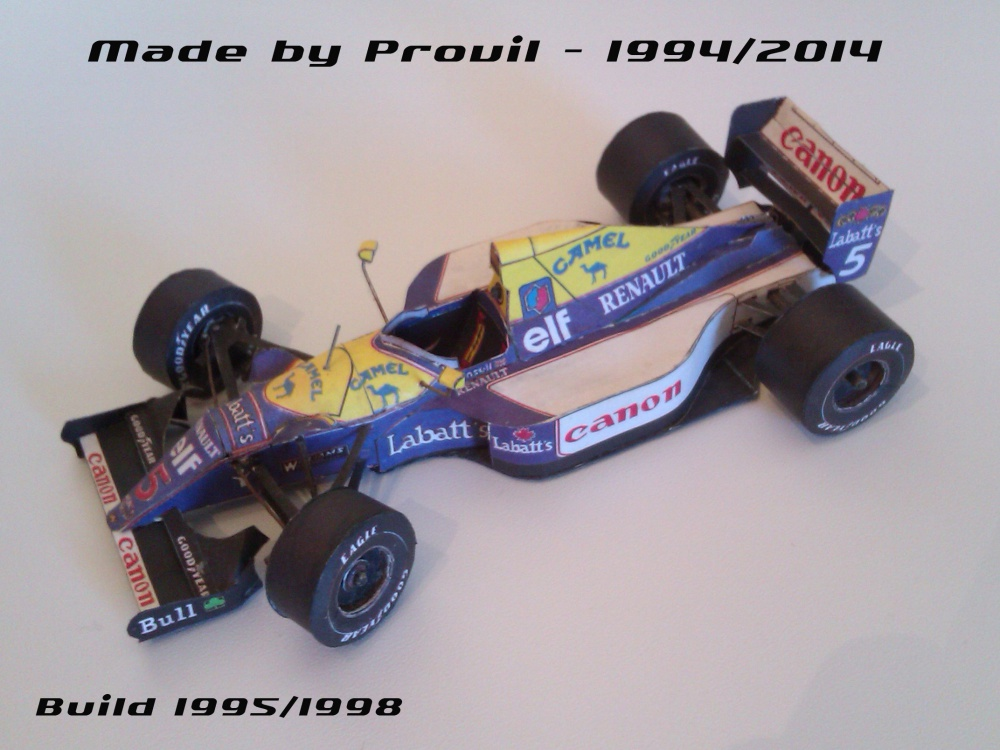 Williams FW14B - (5) Nigel Mansell
