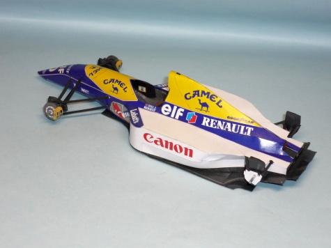 Williams FW15C - Damon Hill - GP Maďarska 1993
