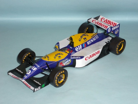 Williams FW15C - Damon Hill - GP Maďarska 1993
