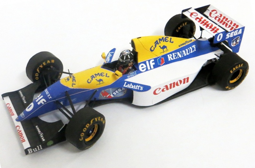 Williams FW15C, D.Hill, Hungary 1993,