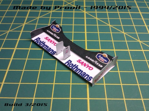 Williams FW18 - (6) Jacques Villeneuve