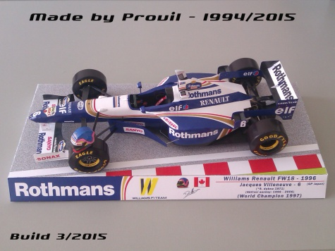 Williams FW18 - (6) Jacques Villeneuve