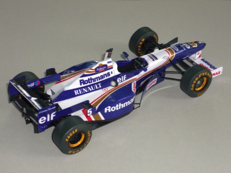 Williams FW18 - Damon Hill - GP Japonska 96
