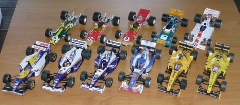 Williams FW18 - Damon Hill - GP Japonska 96