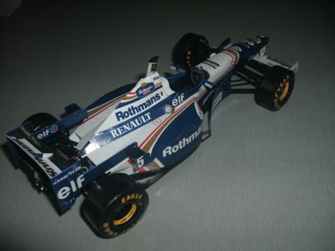 Williams FW18 - D. Hill
