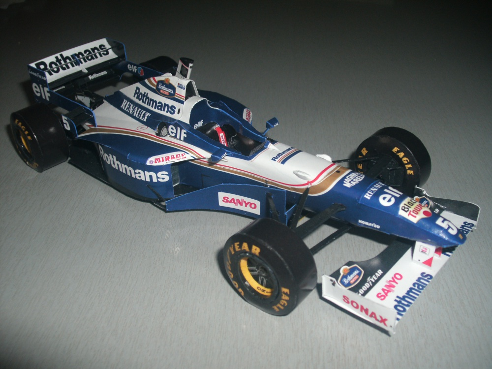 Williams FW18 - D. Hill
