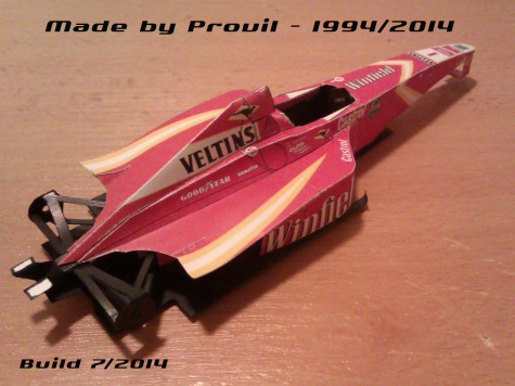 Williams FW20 - (1) Jacques Villeneuve