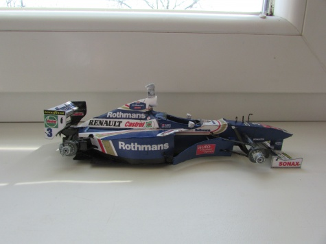 Williams FW 19-J.Villeneuve /GP Europa 1997/