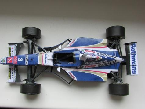 Williams FW 19-J.Villeneuve /GP Europa 1997/