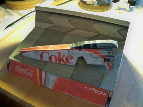 Wipeout Coke Antigravity Craft
