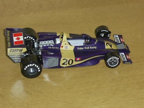Wolf WR01 Jody Scheckter 1977