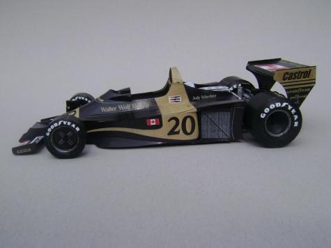 Wolf WR01, 1977, J. Scheckter
