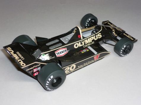Wolf WR7 - James Hunt - GP Argentiny 1979