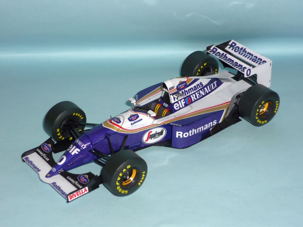 Williams FW16 - Damon Hill - GP Pacifiku 1994
