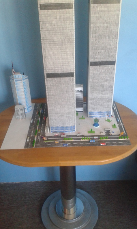 World Trade Center (WTC), Twin Towers - 1:496