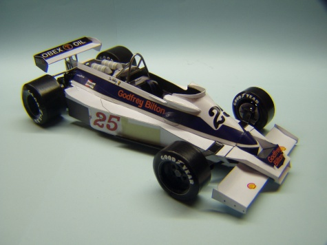 Hesketh 308E, 1977, I. Ashley