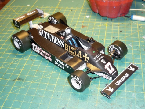 March 811 - Derek Daly - GP Velké Británie 1981