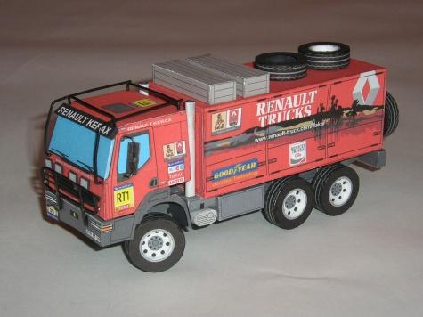 zahraniční kamiony z DAKARU
