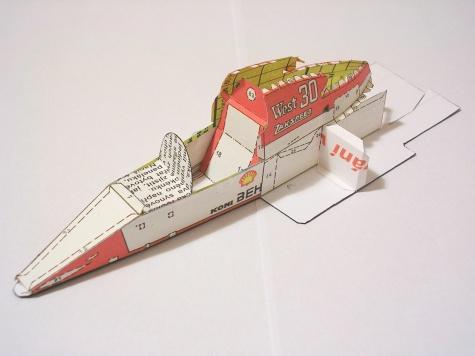 Zakspeed 841, 1985 Jonathan Palmer