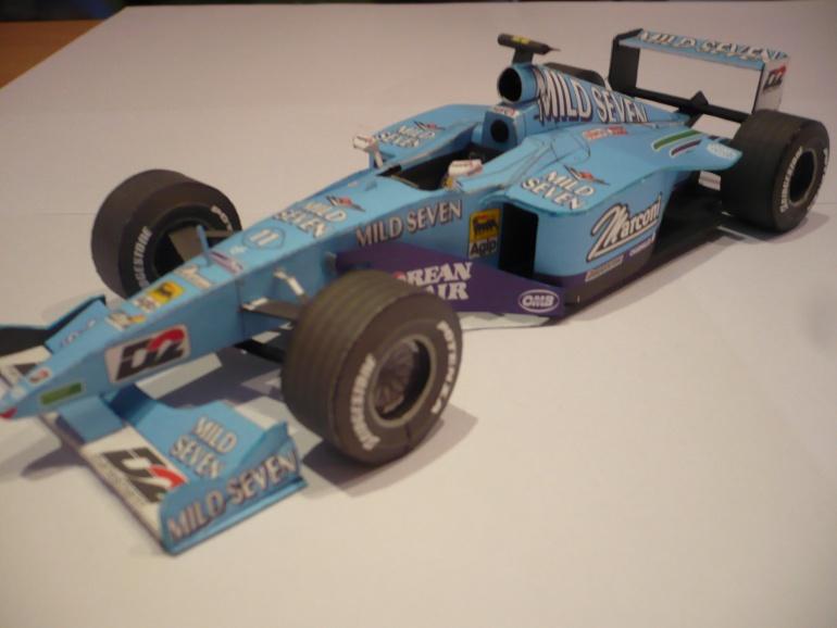 Benetton B200, Zakspeed F1 841