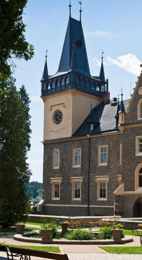 zámecká věž Zruč n. Sázavou