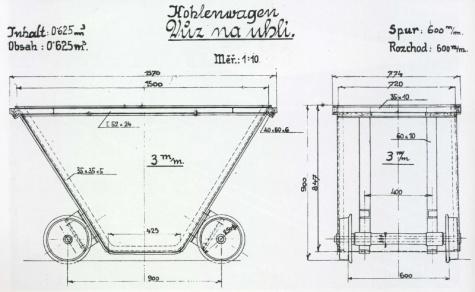 Zauhlovací vozík