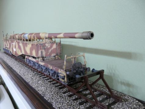 železniční dělo K5 (E) LEOPOLD / 1:25 / GPM