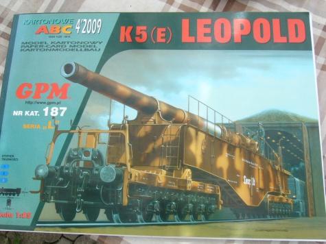 železniční dělo Leopold