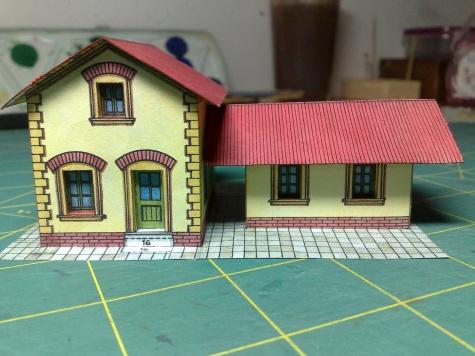Železniční stanice a hradlo