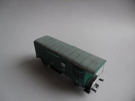 Železniční vůz Da