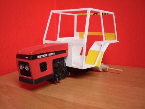 zetor 5211 vlastní výroby