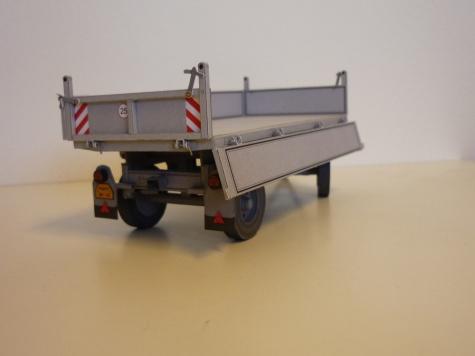 Zetor 5511+5t valník / PMHT, J. Bouška / 1:32