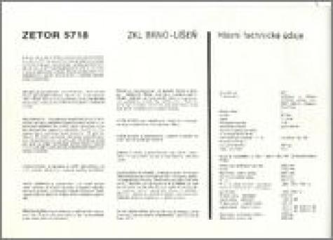 Zetor 5718 Vyvoj
