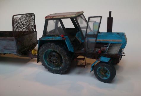 Zetor Crystal 8011 & rozmetadlo univerzální RU-5