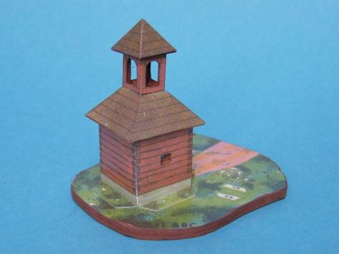 Zvonica v Ostrovci u Zbiroha