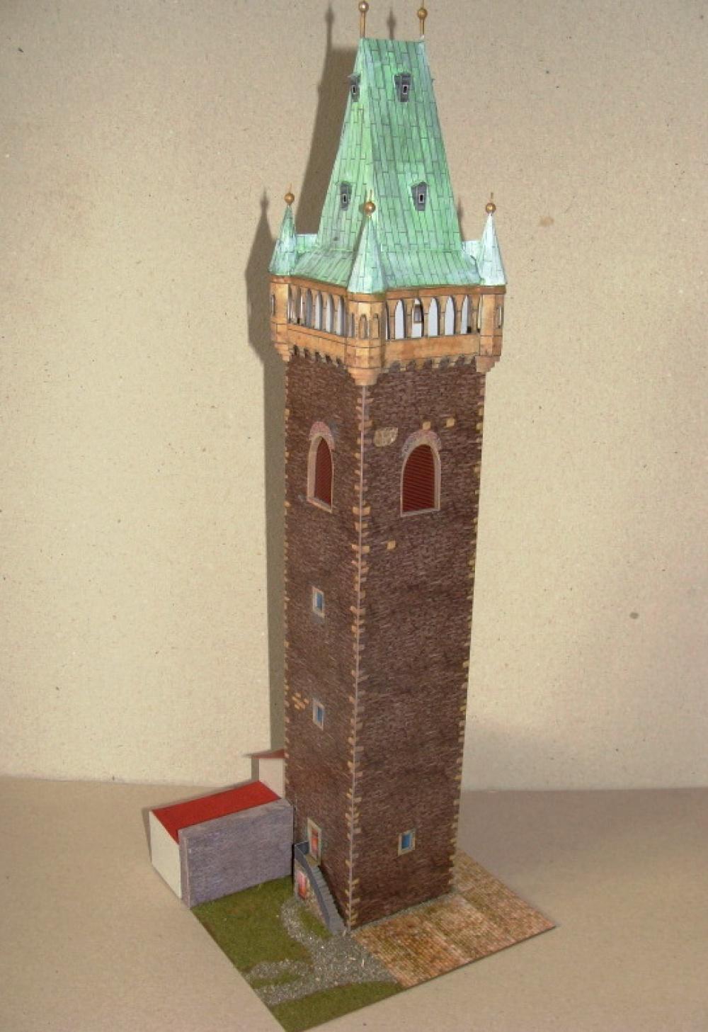 zvonice chrámu Sv.Bartoloměje v Kolíně
