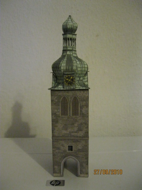 Zvonice kostela na Poříčí ^2
