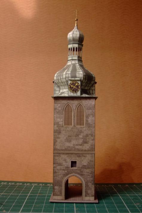 Zvonice kostela sv. Petra na Poříčí